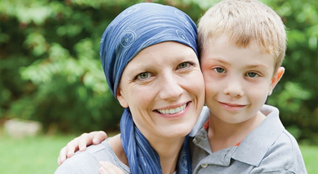cancer mom and boy